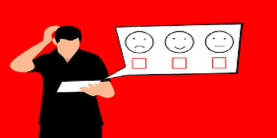 candidate scratching head over recruitment satisfaction survey