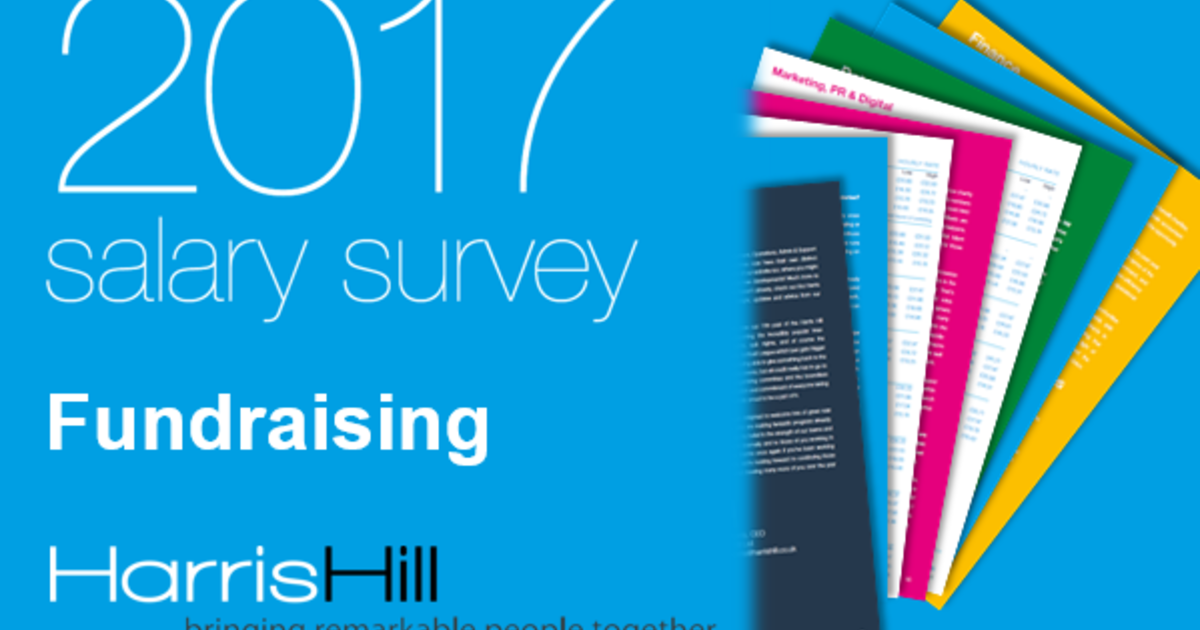 9ddbfd828b5 2017 salary survey: what's happening in fundraising? - Harris Hill