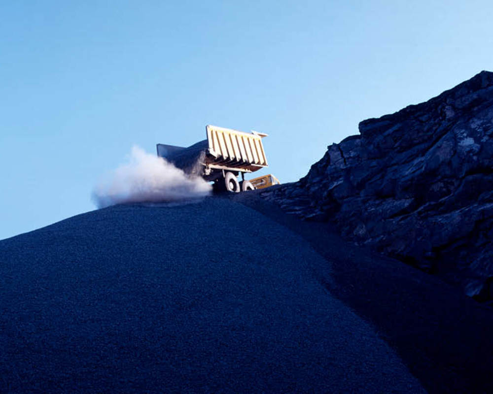 Search Consultancy Global Mining Jobs Mining Image. Dump Truck Dumping Coal On To Coal Pile.