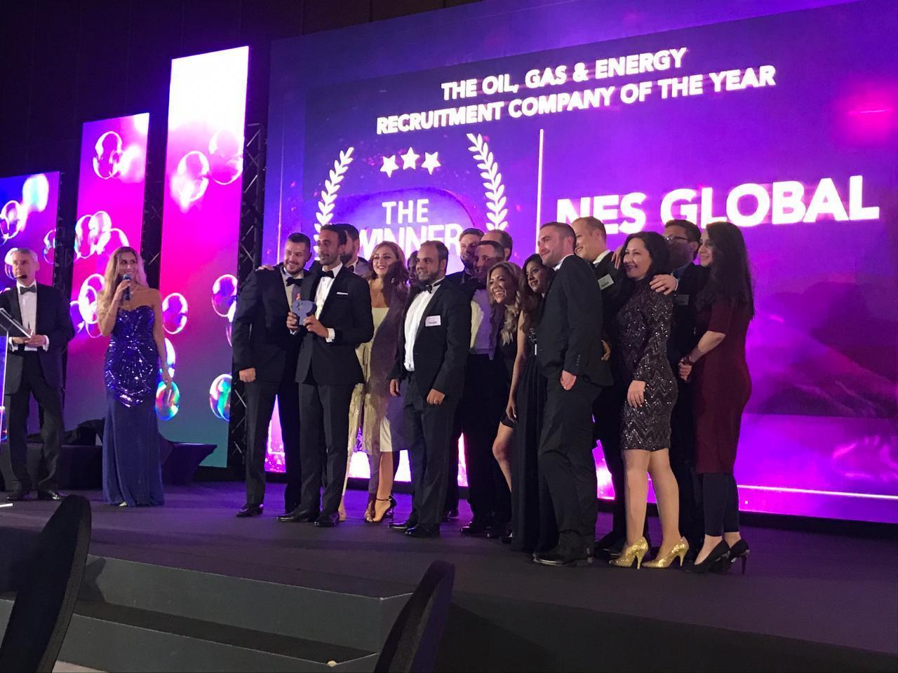 Oil and gas award middle east recruitment