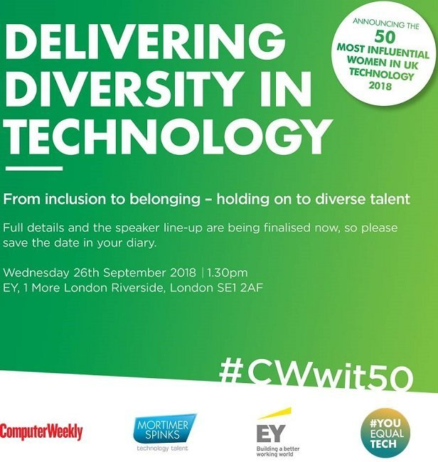 Delivering diversity in technology event