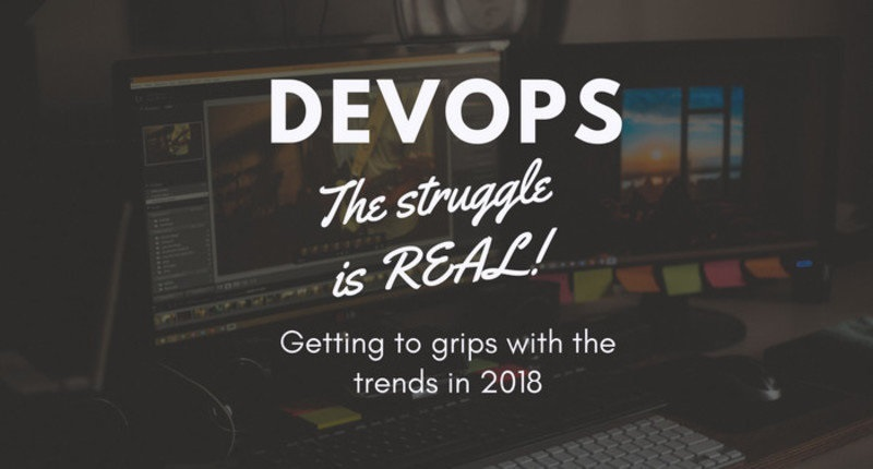 DevOps - the struggle is real