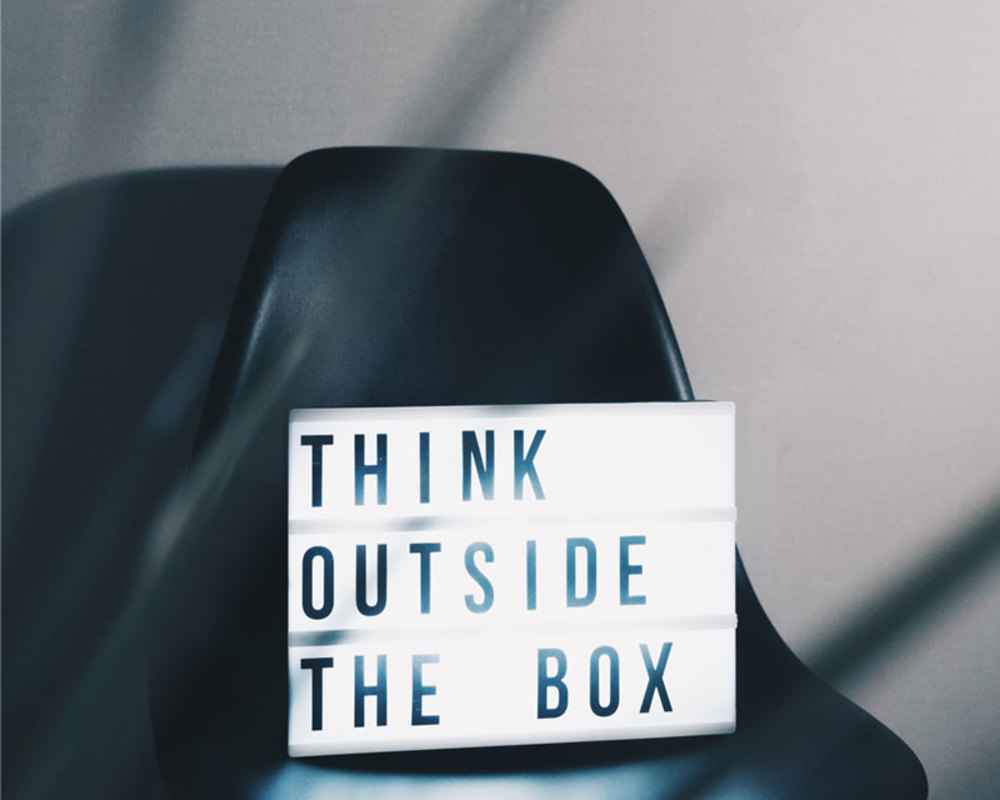Think out side of the box