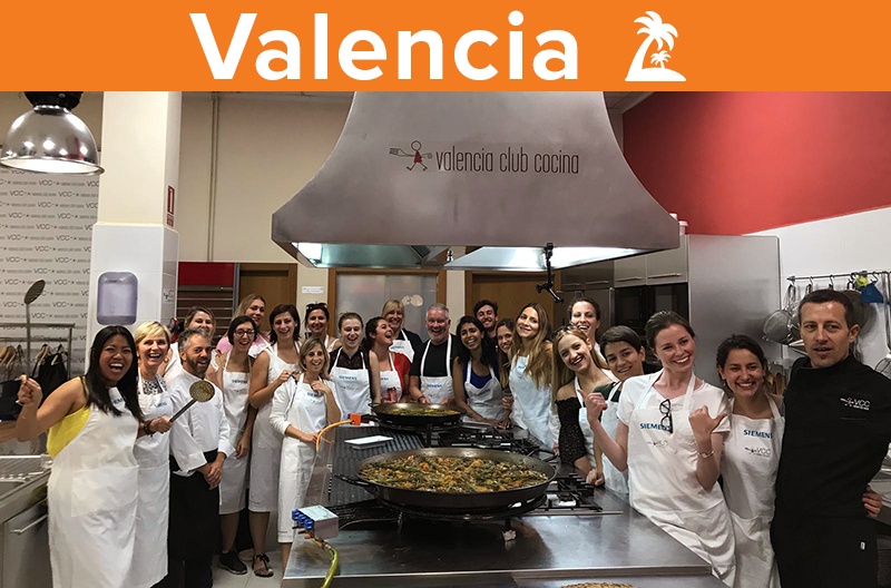 Adams team outing Valencia 2018