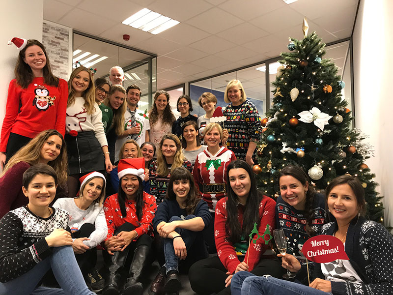 Adams Secret Santa party 2018