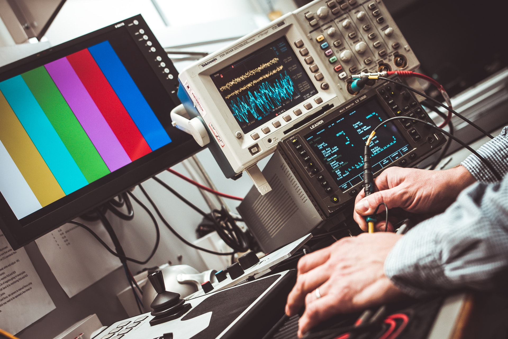 Man Testing Electrical Equipment - Electrical and Electronics Engineers - The 14 Best Engineering Jobs For The Future