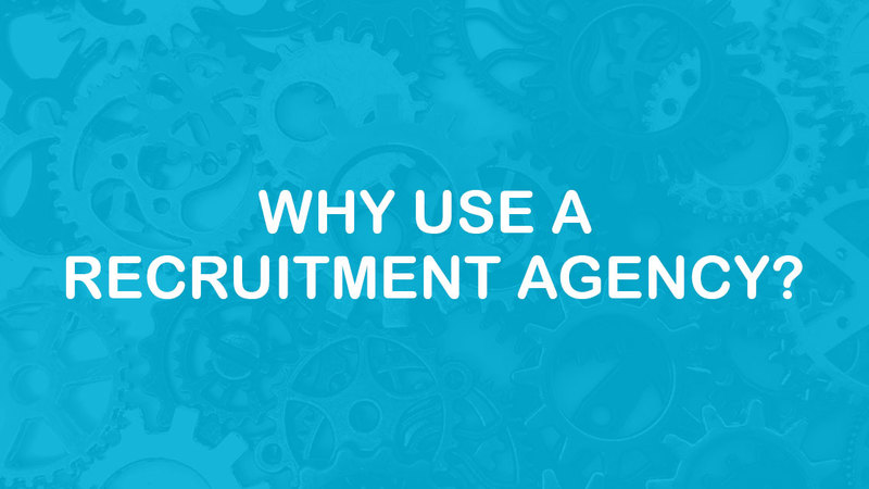 Why Use A Recruitment Agency? Header image from the Entech Technical Solutions blog