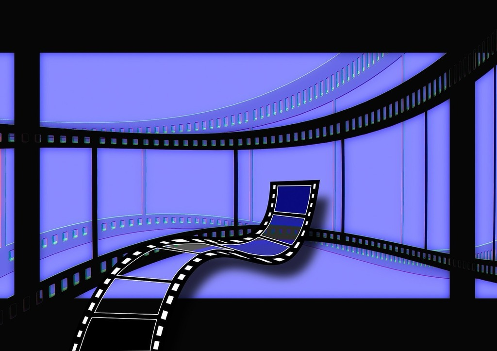 Film strip image for video in recruitment