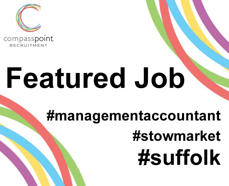 Featured job: Management Accountant, Suffolk