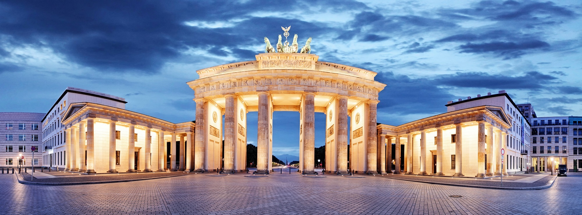 The Brandenberg Gate, Berlin