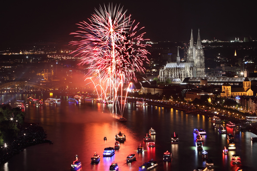 Saint Sylvester's Day/New Year's Eve in Cologne