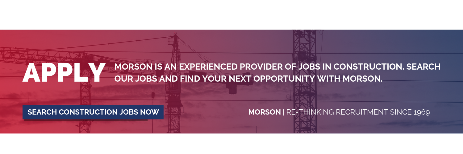 construction jobs morson