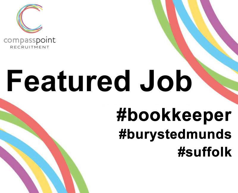 Bookkeeper,role in Bury St Edmunds
