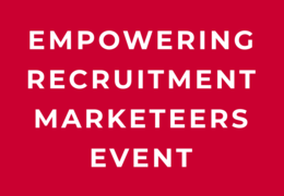 Empowering Recruitment Marketeers - Event registration