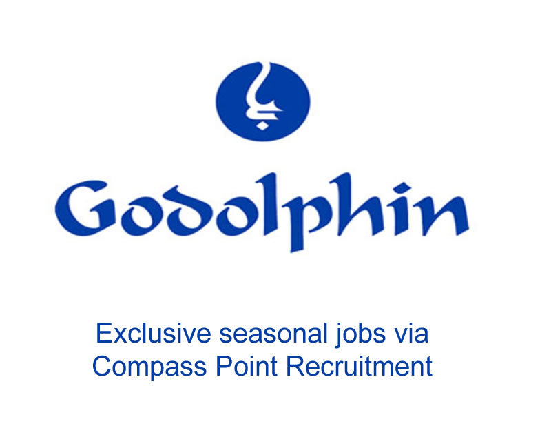 Exclusive Godolphin jobs through Compass Point Recruitment