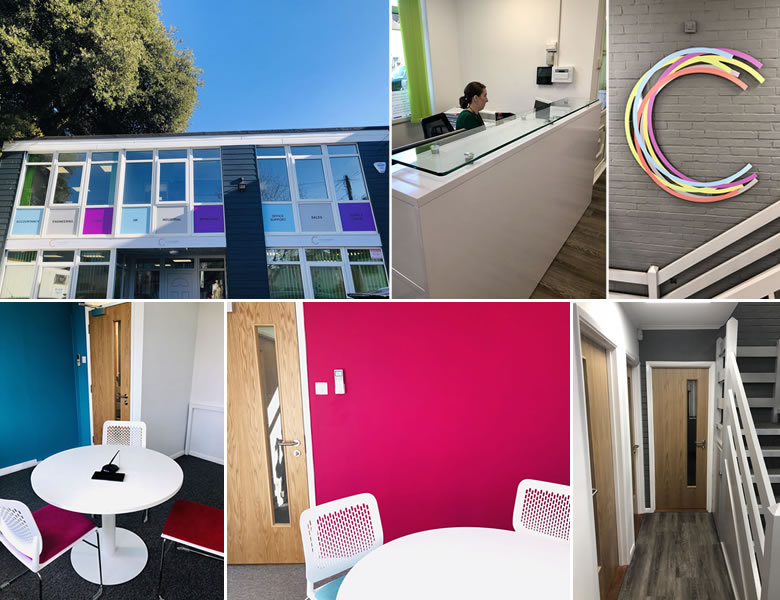Images of the office after the refurbishment