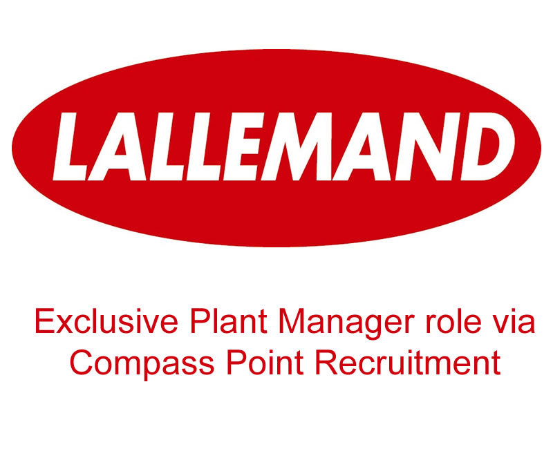 Exclusive Plant Manager job in Felixstowe with Lallemand