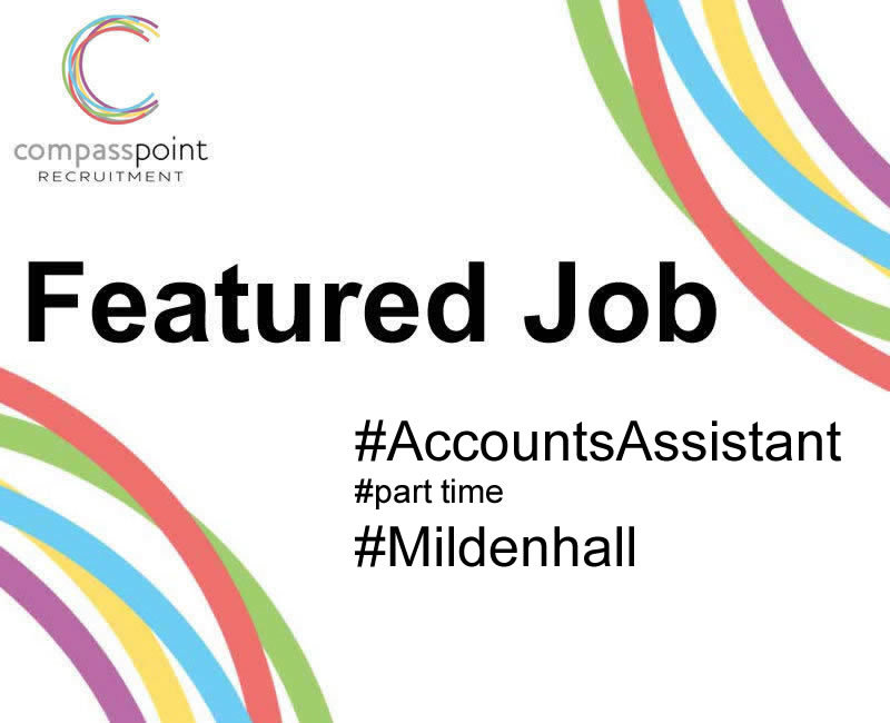 Accounts Assistant part time role in Mildenhall, Suffolk