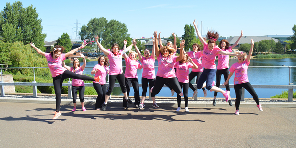 Swanstaff Recruitment staff take part in pretty muddy charity race