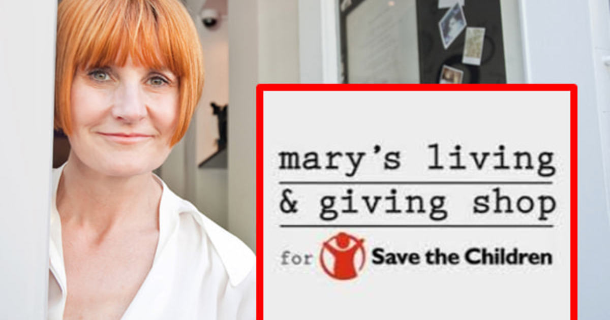 72f0b2b57427 Mary Portas and Save the Children need you! - Harris Hill