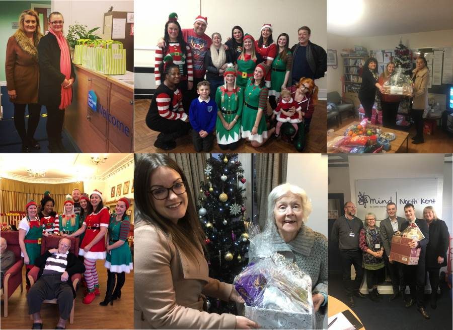 Swanstaff spread the love at Christmas time by donating to the Darrent Valley Hospital and other healthcare centres