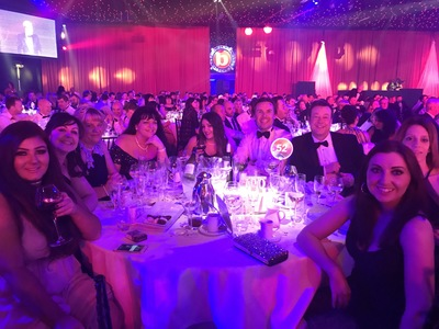 Swanstaff Recruitment staff attend Sunday Times best companies awards night