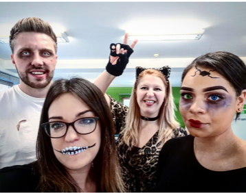 Swanstaff Recruitment halloween dress up