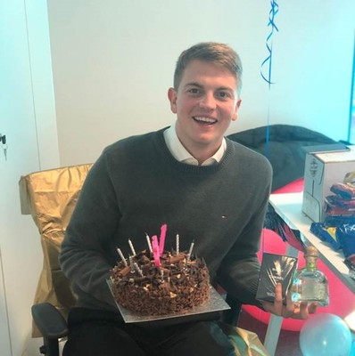 Swanstaff Recruitment young man celebrates birthday