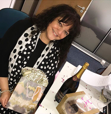 Swanstaff Recruitment employee celebrates birthday