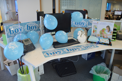 Swanstaff Recruitment baby presents