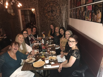 Swanstaff Recruitment Christmas night out