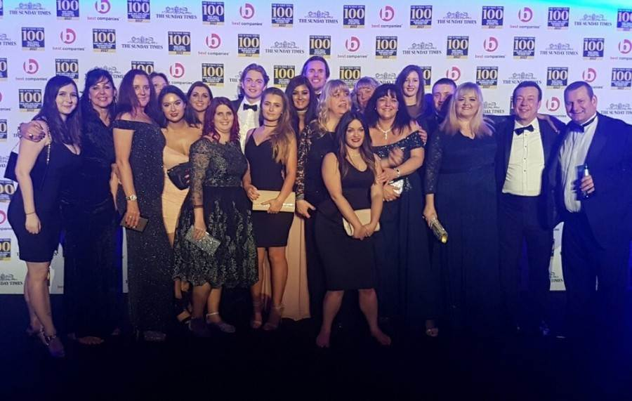 Swanstaff Recruitment awarded Sunday Times Best Companies 2017
