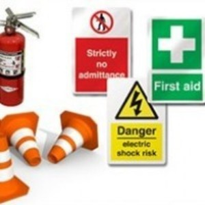 Health and safety signs and equipment