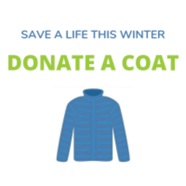 Swanstaff Donate A Coat Charity Campaign Poster