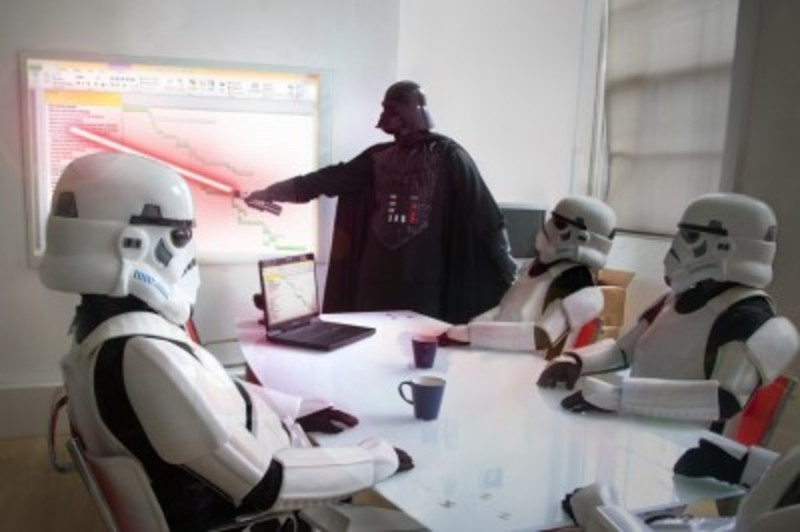 Which office jobs would the characters of Star Wars have?