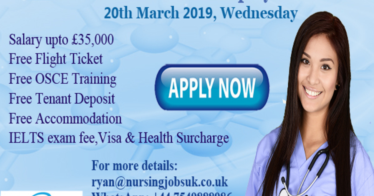 Nurses to the UK Direct Employer Interview - Nursing Jobs UK