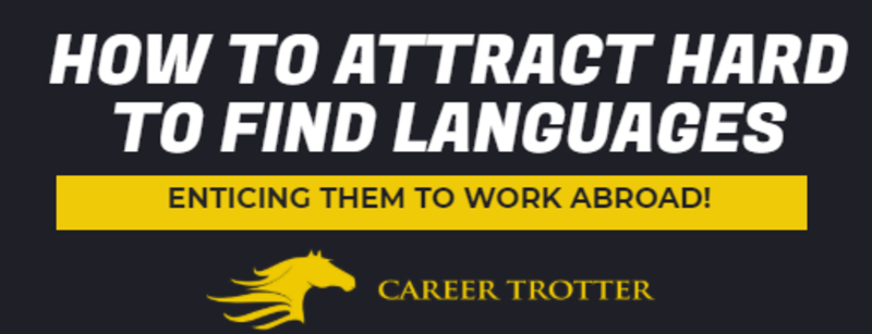 How to attract multilingual speakers abroad