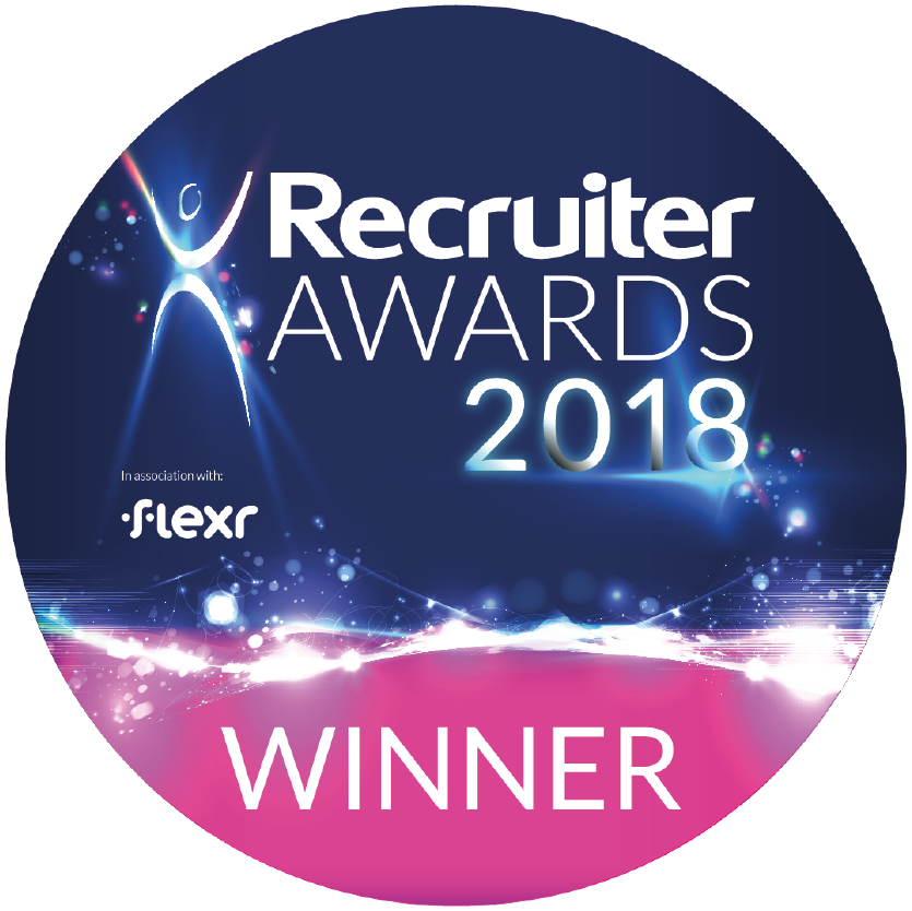 Recruiter Awards 2018 Winner