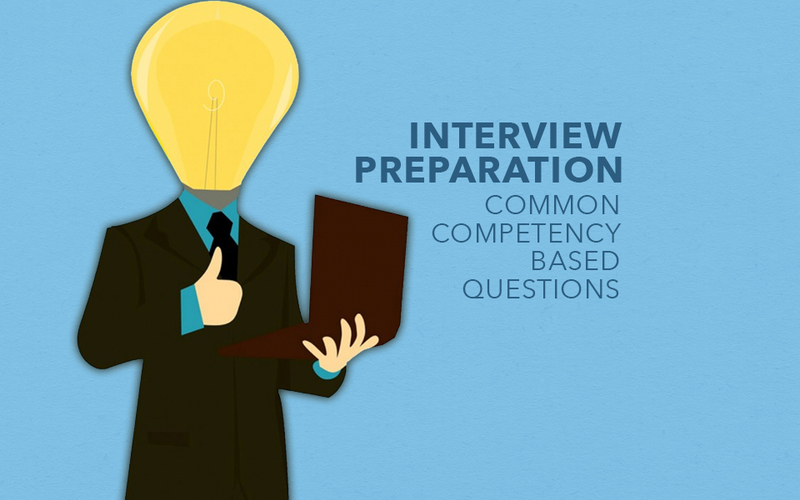 Interview Preparation: Common competency based questions