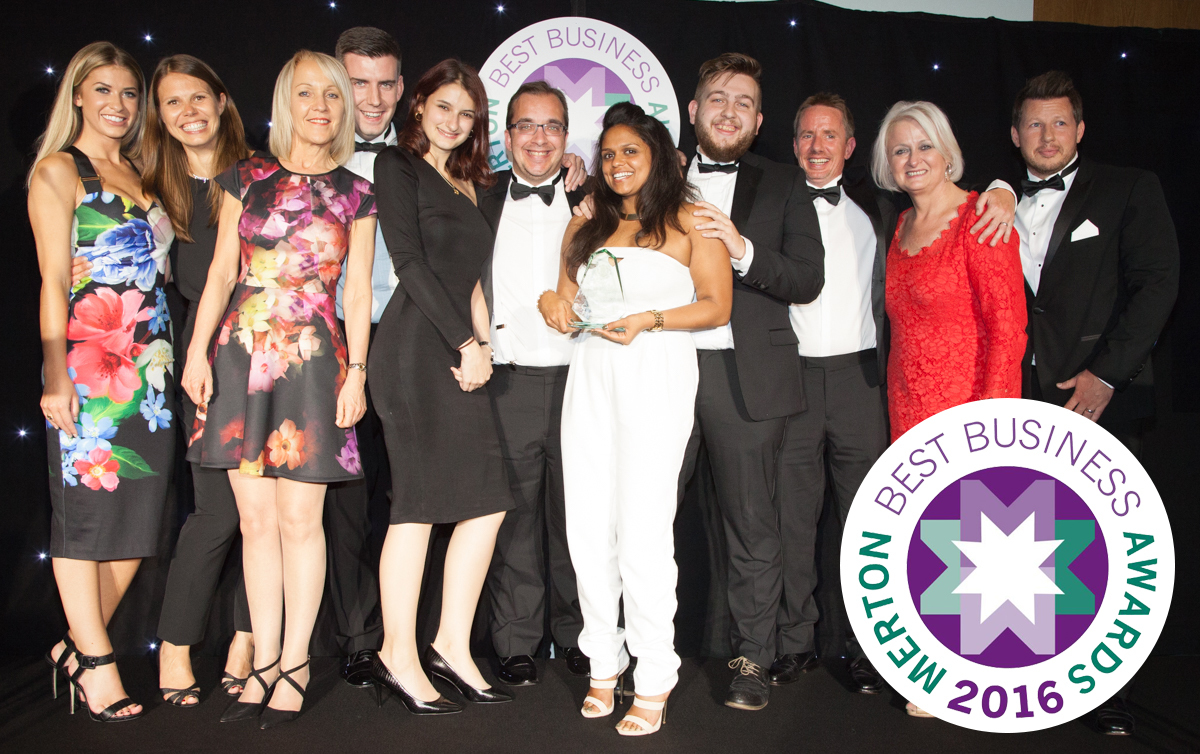 Employer of the Year and Best Business at Merton awards 2016
