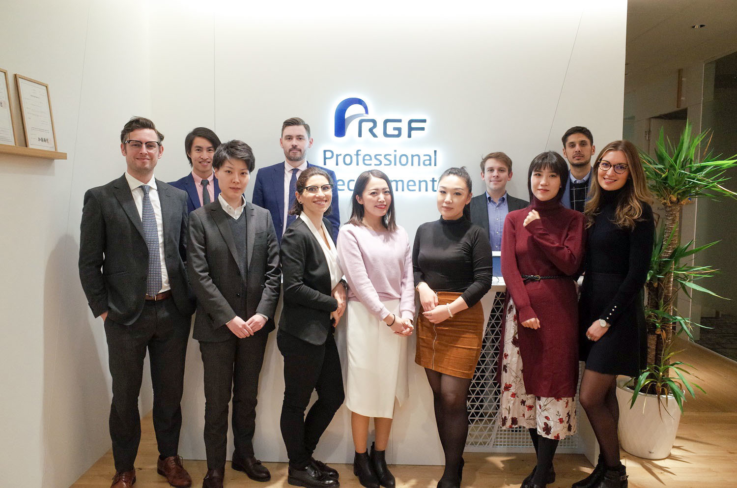 Finance & Accounting Team @ RGF Professional Recruitment Japan
