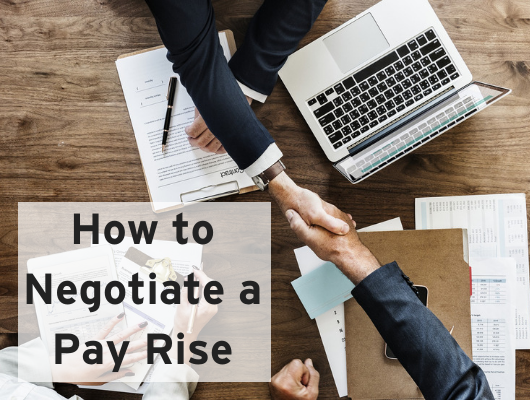 HOW TO NEGOTIATE A PAY RISE WEBINAR - RECORDING