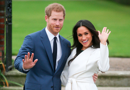 Royal Engagement: If you're punching, put a ring on it!