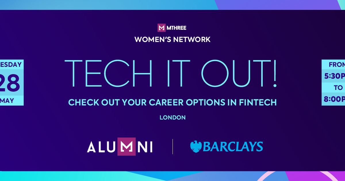 MThree Women's Network Event - 'Tech It Out!' - Careers in FinTech