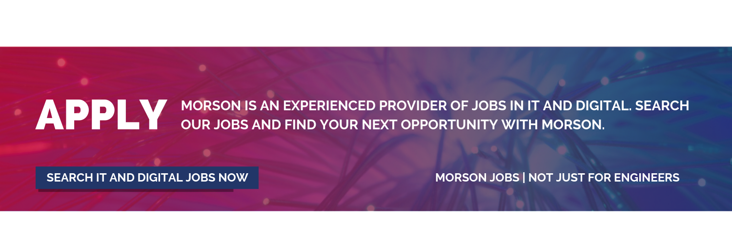 search morson IT jobs