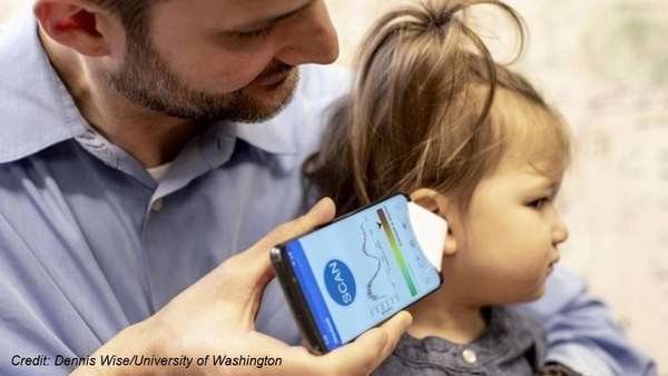 Medtech medical devices smartphone app ear infections children