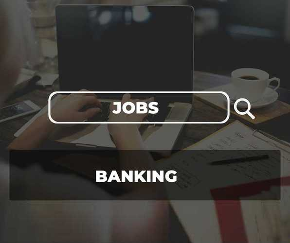 image contains words jobs and banking