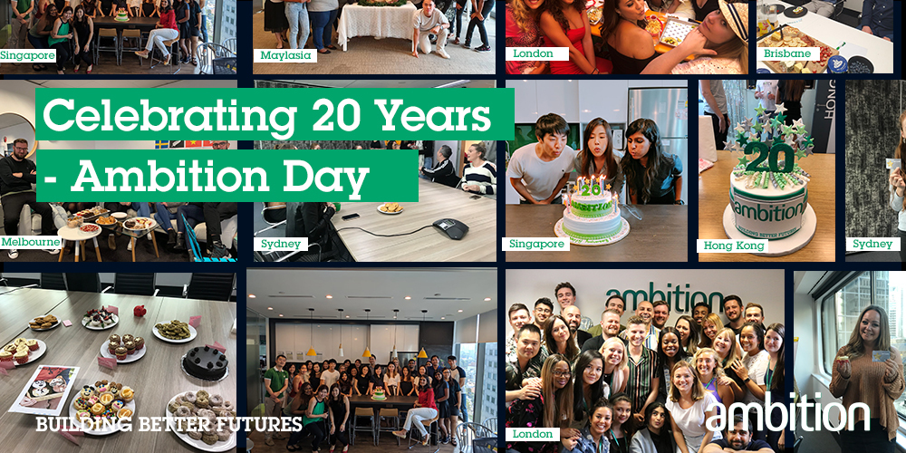 Celebrating 20 years of Ambition - Ambition Day