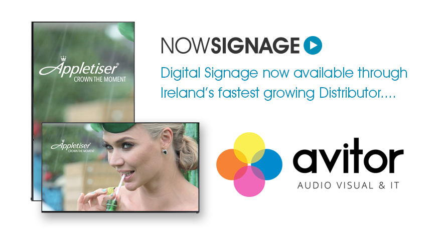 NowSignage and Avitor AV