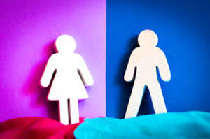 man and woman figures representing equality